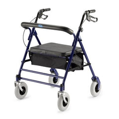 Buy Bariatric Rollator Walker with Padded Seat by Invacare online | Mountainside Medical Equipment