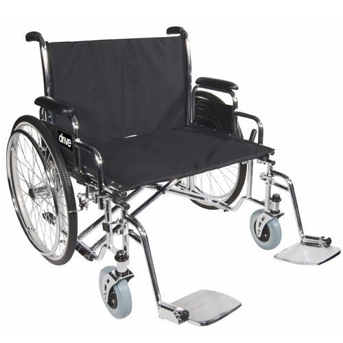 Bariatric Sentra EC Heavy Duty Extra Wide Wheelchair - Wheelchairs - Mountainside Medical Equipment