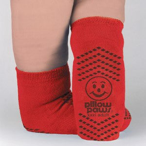 Bariatric Non Skid Socks High Risk Red