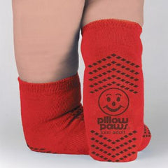 Buy Bariatric Non Skid Socks High Risk Red by Tranquility online | Mountainside Medical Equipment