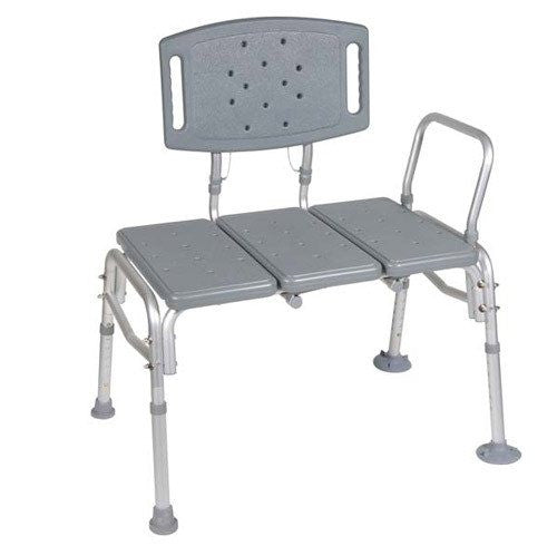 Buy Knock Down Bariatric Transfer Bench by Drive Medical | SDVOSB - Mountainside Medical Equipment