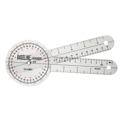 Buy Transparent Measuring Goniometer with 360 Degree Head online used to treat Physical Therapy - Medical Conditions
