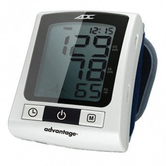 Basic Advantage Digital Wrist Blood Pressure Monitor - Wrist Blood Pressure Monitors - Mountainside Medical Equipment
