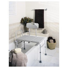 Buy Medline Bath Transfer Bench 300 lb Capacity by Guardian Mobility | SDVOSB - Mountainside Medical Equipment