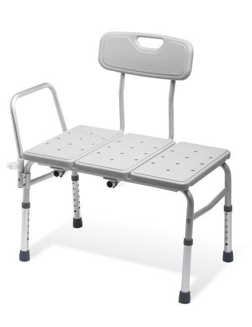 Medline Bath Transfer Bench 300 lb Capacity for Transfer Benches by Guardian Mobility | Medical Supplies