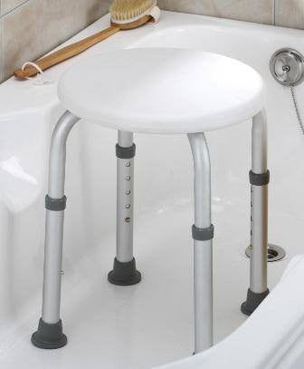 Buy Essential Bath Stool - White online used to treat Bath Stools - Medical Conditions