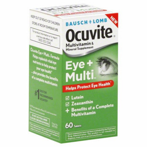 Buy Ocuvite Eye Health + Multi Vitamin Supplement 60 Count by Bausch & Lomb online | Mountainside Medical Equipment