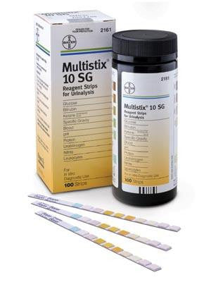 Buy Bayer 2161 Multistix 10 SG Reagent Strips 100/Bottle with Coupon Code from Bayer Healthcare Sale - Mountainside Medical Equipment