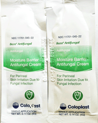 Buy Baza Antifungal Moisture Barrier 4 gram Packets, 300/box used for Antifungal Medications by Coloplast Corporation