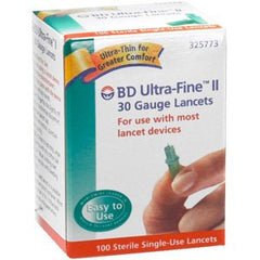 Buy BD Ultra-Fine II 30 Gauge Lancets by BD from a SDVOSB | Lancets