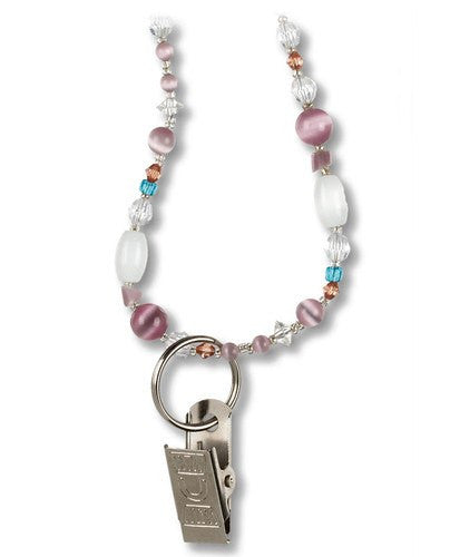 Beaded Nurse Lanyard with Magnetic Breakaway