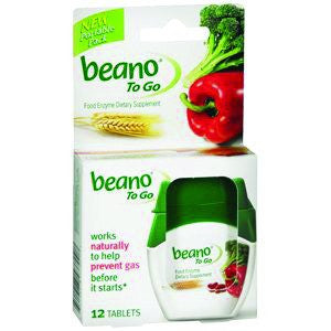 Buy Beano to Go Gas Relief Supplement 12/Tablets by Prestige Brands | Home Medical Supplies Online