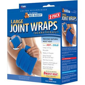 Bed Buddy Large Therapeutic Joint Wrap - Hot & Cold Packs - Mountainside Medical Equipment