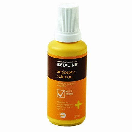Betadine First Aid Topical Antiseptic Spray 3oz - First Aid Supplies - Mountainside Medical Equipment