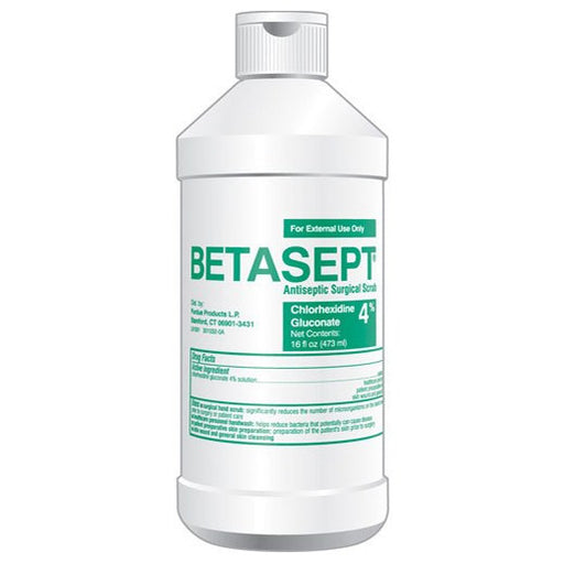 Buy Betasept Surgical Scrub 16oz, 12/Case online used to treat Hand Sanitizers - Medical Conditions