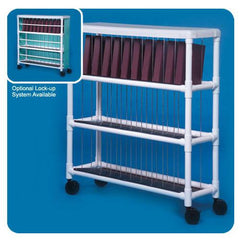 PVC Chart Storage Racks for Medical Furniture by Innovative Products Unlimited | Medical Supplies