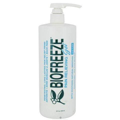 Biofreeze Gel Cold Therapy Pain Relief 32 oz Pump Bottle