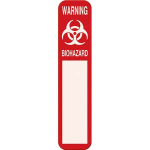 Biohazard Warning Magnetic Door Sign