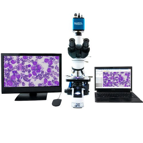 BioVID 1080P Microscope Camera with High-Resolution Color - Lab Technician - Mountainside Medical Equipment