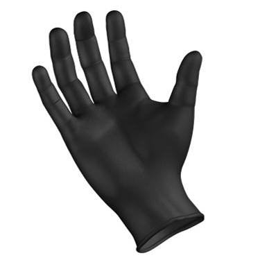NitriDerm Ultra Black Nitrile Gloves Powder Free 100/Box