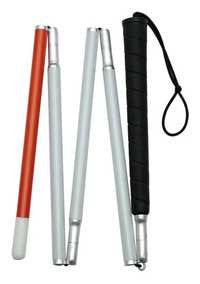 Buy Blind Mans Walking Cane 50 Inch long online used to treat Canes - Medical Conditions