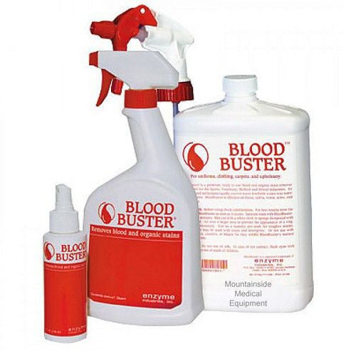 Blood Buster Blood Stain Remover - IV & Irrigation - Mountainside Medical Equipment