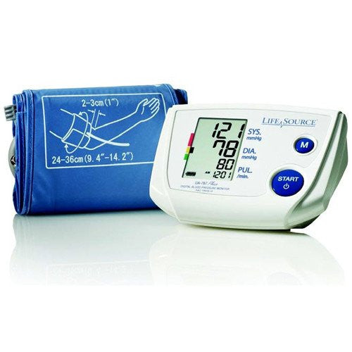 One Step Memory Automatic Blood Pressure Monitor