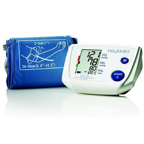 Digital Automatic Blood Pressure Unit with Large Cuff UA767PVL