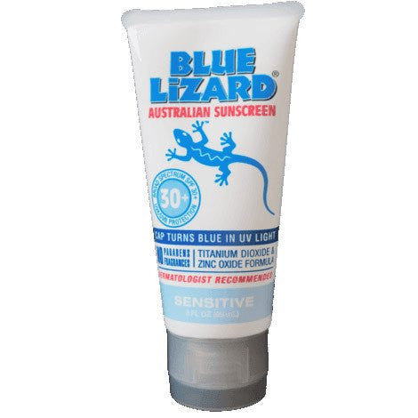 Buy Blue Lizard Australian Sunscreen for Sensitive SPF 30 by Crown Laboratories wholesale bulk | Sunburn