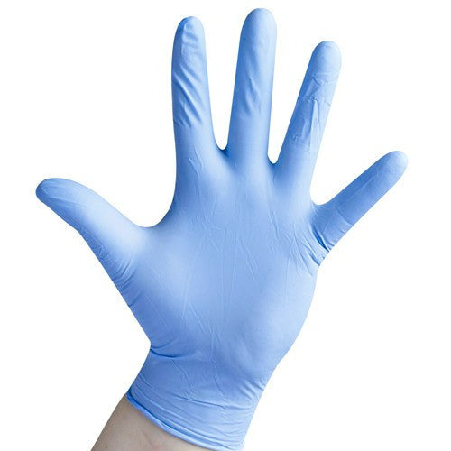 Better Touch Blue Nitrile Gloves, 100/Box