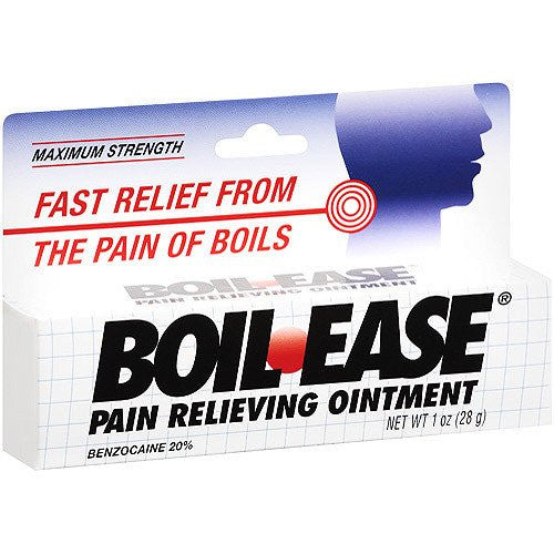 Boil Ease Pain Relief Skin Ointment 1 oz