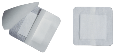 Pro Advantage Bordered Island Gauze Dressings 4 x4, 25/box - Foam Dressings - Mountainside Medical Equipment