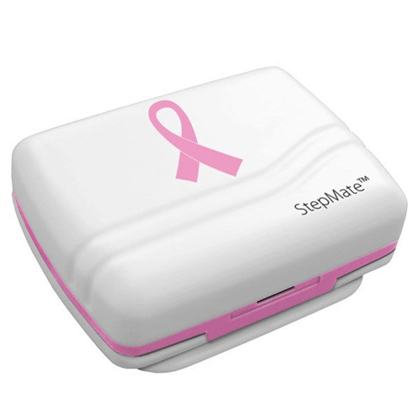 Buy StepMate Pink Ribbon Pedometer online used to treat Exercise and Fitness - Medical Conditions
