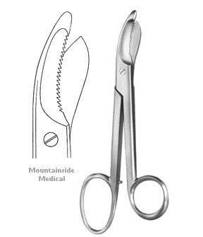 Buy Bruns Plaster Shears online used to treat Surgical Instruments - Medical Conditions
