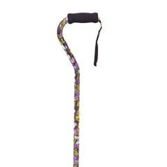 Buy Butterfly Adjustable Off Set Cane by Essential from a SDVOSB | Canes