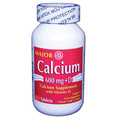 Buy Calcium Tablets by Major Pharmaceuticals from a SDVOSB | Hypocalcemia Treatment