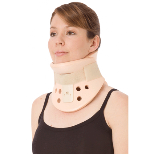 California Cervical Collar, Lightweight Two-Piece Supportive Neck Collar
