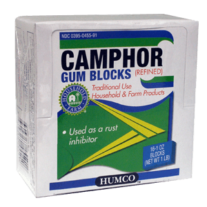 Buy Humco Camphor Gum Blocks 16 x 1 oz online used to treat Pain Relievers - Medical Conditions