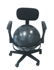 Buy CanDo Ball Chairs by Fabrication Enterprises from a SDVOSB | Physical Therapy