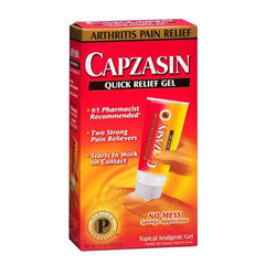 Capzasin Arthritis Pain Relief Gel for Pain Management by Chattem | Medical Supplies