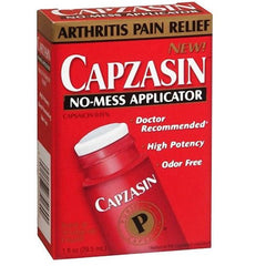 Buy Capzasin Deep Penetrating Pain Relief No-Mess Applicator by Chattem | Home Medical Supplies Online