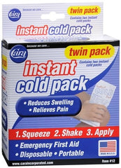 Cara Instant Cold Pack (2 Pack) for Hot & Cold Packs by Cara | Medical Supplies