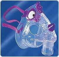 Nic the Dragon Pediatric Aerosol Mask for Nebulizer Kit by Cardinal Health | Medical Supplies