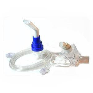 Sidestream High Efficiency Aerosol Nebulizer with Angled Mouthpiece