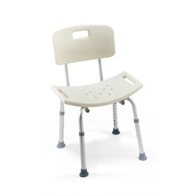 Buy Invacare CareGuard Shower Chair with Adjustable Legs by Invacare | Home Medical Supplies Online
