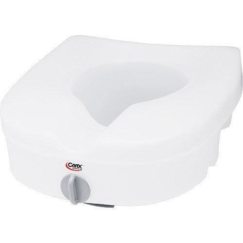 Buy Carex EZ Lock Raised Toilet Seat B305-00 by Carex | Home Medical Supplies Online