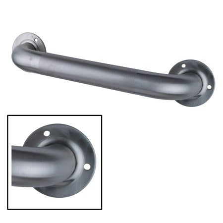 Buy Carex Textured Steel Wall Grab Bar 24 inch B212-00 by Carex wholesale bulk | Grab Bars