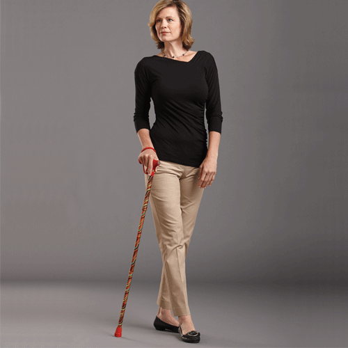 Carnival Folding Walking Stick by Switch Sticks - Canes - Mountainside Medical Equipment