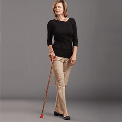 Buy Carnival Folding Walking Stick by Switch Sticks by Switch Sticks | Home Medical Supplies Online