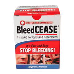 Buy BleedCEASE Stop Bleeding First-Aid Pads online used to treat First Aid Supplies - Medical Conditions